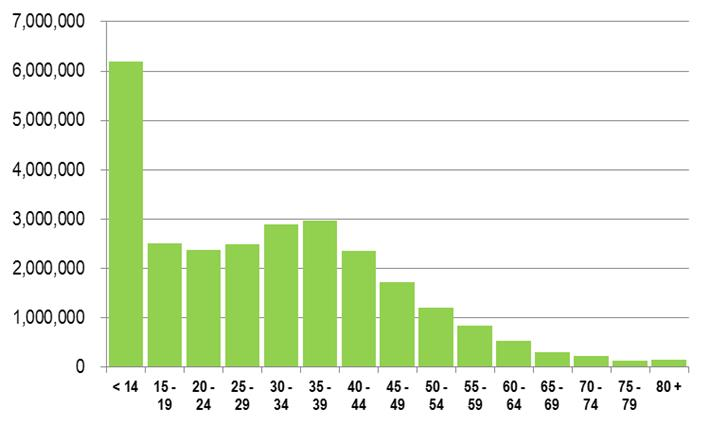 Population By Age Group 113