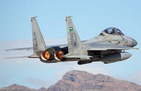 Saudi Arabian air force F15 Aircraft