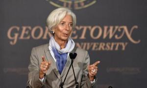 IMF Managing Director Christine Lagarde, AP