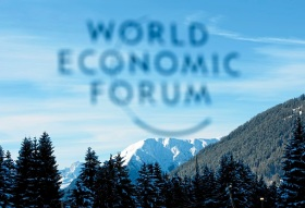 DAVOS/SWITZERLAND, 27JAN11 - Impression of the Logo of the World Economic Forum in Davos, Switzerland, on January 27, 2011  .Copyright by World Economic Forum swiss-image.ch/Photo by Jolanda Flubacher